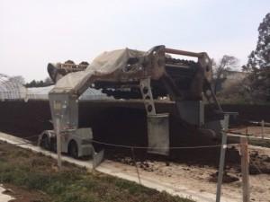 堆肥処理施設