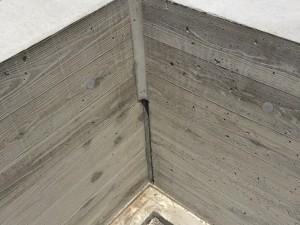 木目のコンクリート